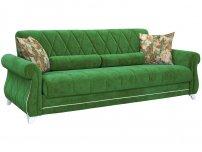Диван-кровать Роуз арт. ТД-115 зеленый