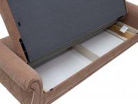 Диван-кровать Роуз арт. ТД-253 коричневый