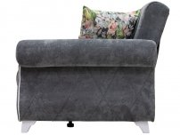 Диван-кровать Роуз арт. ТД-257 серый