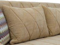 Диван-кровать Роуз арт. ТД-258 желто-песочный