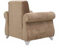 Кресло для отдыха Роуз арт. ТК-254 песочный бежевый
