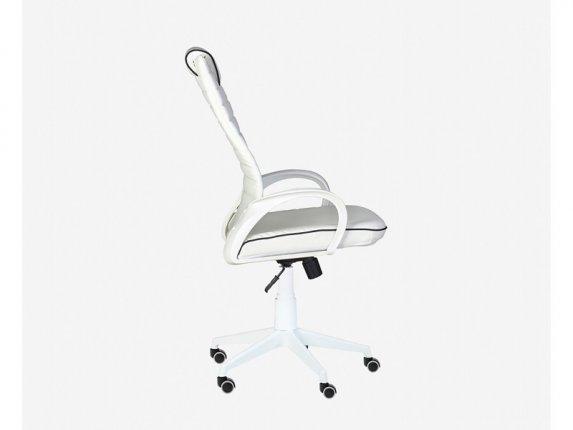 Кресло для руководителя Квест White белый