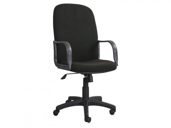 Кресло офисное Siluet DF PLN C11 черное