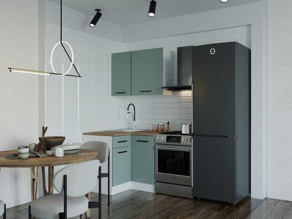 Кухонный гарнитур угловой Фисташка 1000У