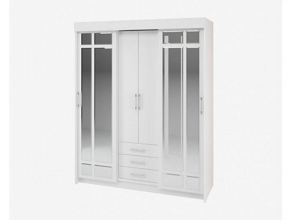 Шкаф-купе Фортуна белый
